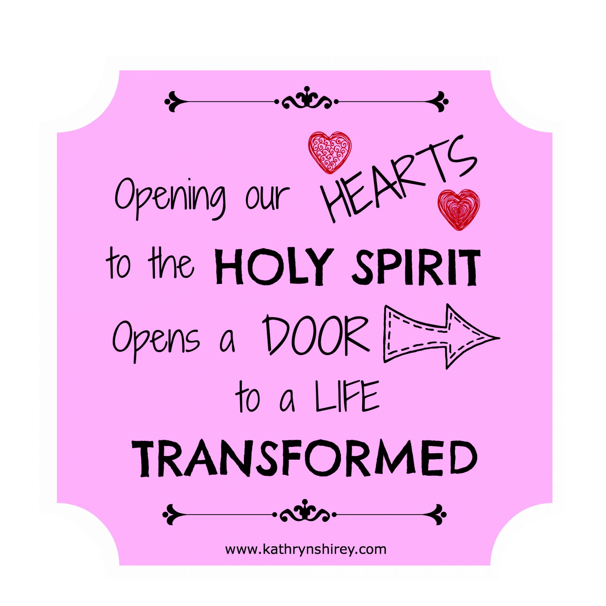 Prayer To Prepare Our Hearts Holy Spirit Series