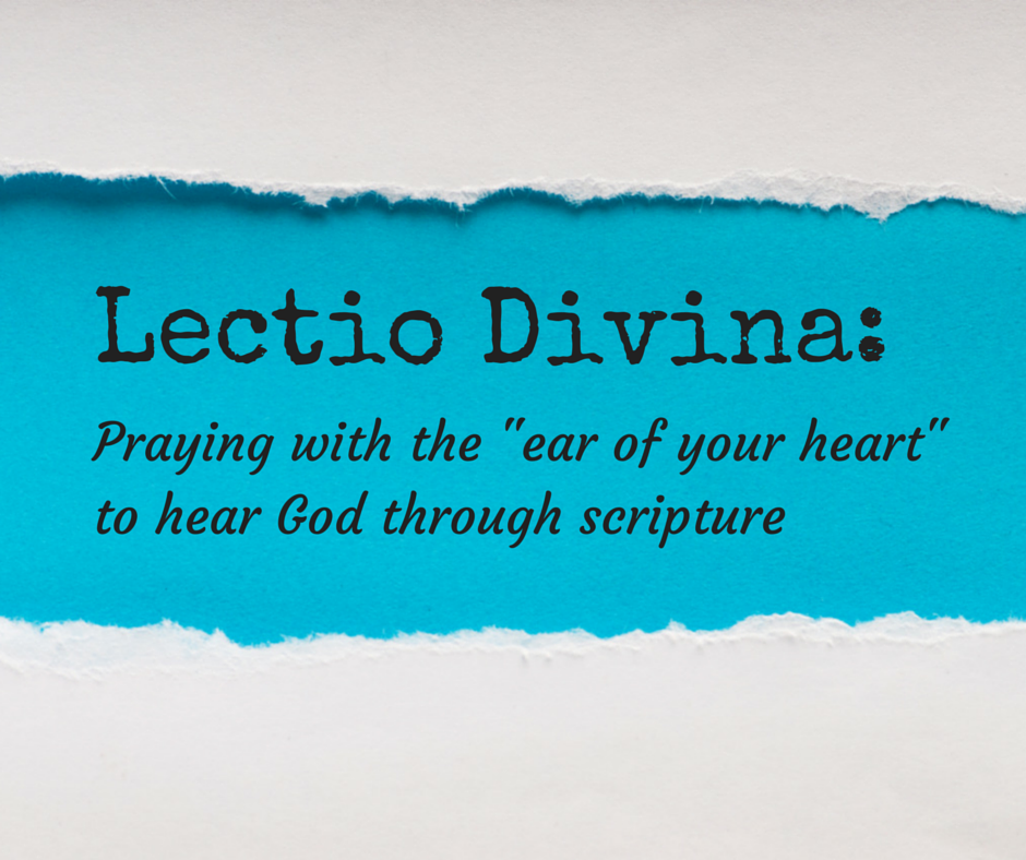 """What Happened To Hope And Change >> Pray With the """"Ear of Your Heart"""": Lectio Divina - Finding Hope"""