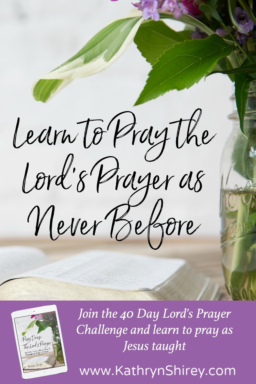 the lord u0027s prayer kathryn shirey