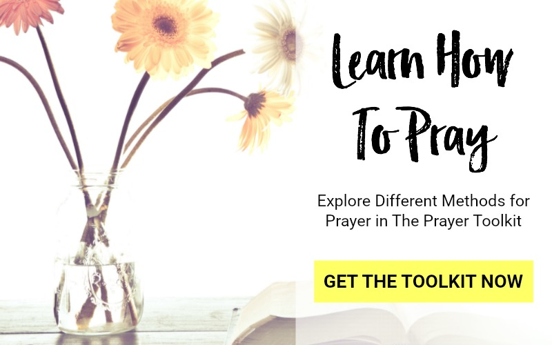 The Prayer Toolbox - the essential reference guide on how to pray. More than 50 prayer ideas