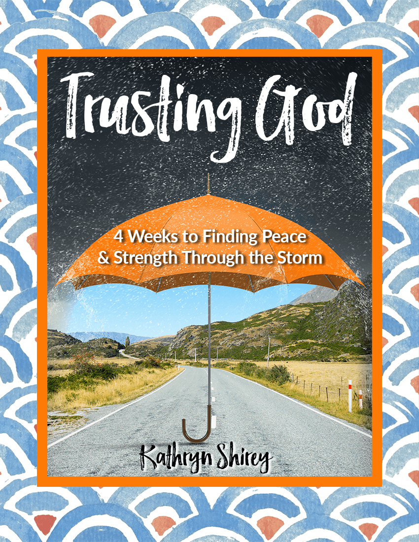 Trusting God devotional